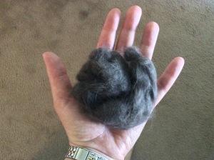 Massive hairball