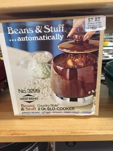 Beans & Stuff Crock