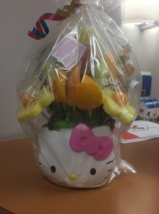 Hello Kitty Edible Arrangement Bouquet